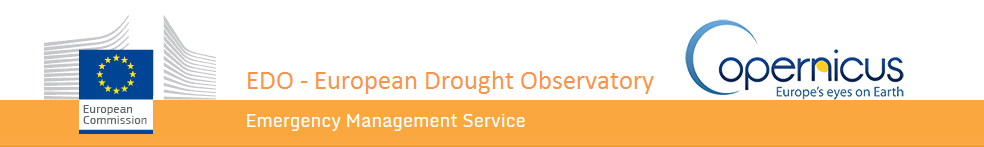 Welcome to the European Drought Observatory