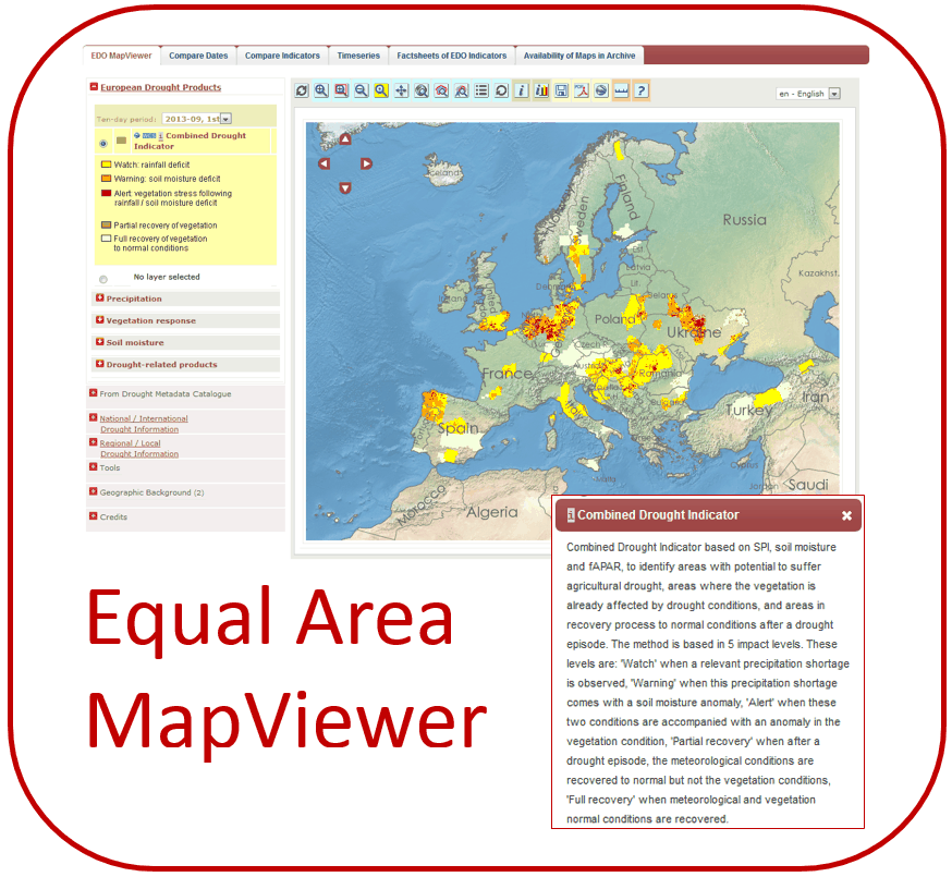 Equal Area MapViewer