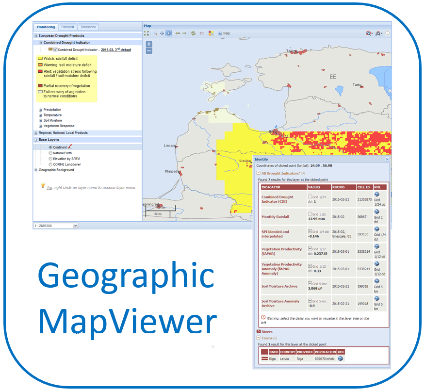Geographic MapViewer